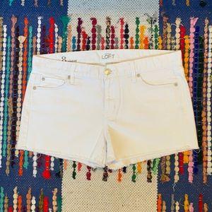 Ann Taylor LOFT Denim cutoff shorts